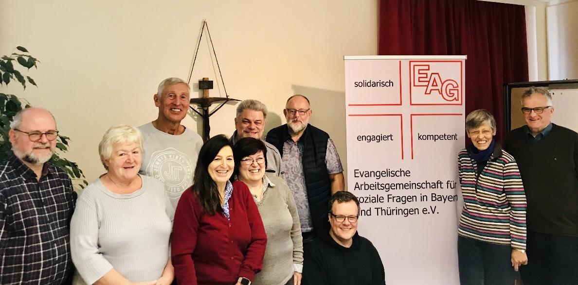 Teilnehmer an der EAG-Vorstandssitzung am 5. 10. 2019.